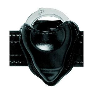 Safariland Model 090 Handcuff Pouch Open Top Formed Chained Cuff Only Nylon Look Black 090-22