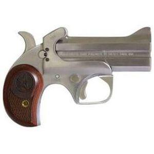 "Bond Arms Century 2000 Derringer Handgun .410 Bore or .45 Long Colt 3.5"" Barrels 2 Rounds Rosewood Grip Satin Polish Stainless Steel Finish"