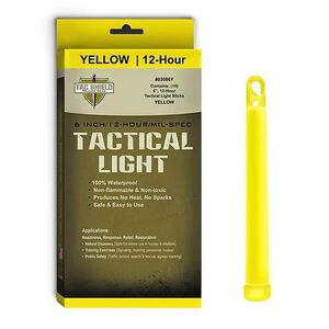 "Tac Shield Tactical Light Sticks 6"" Length Package of 10 Yellow 03086Y"