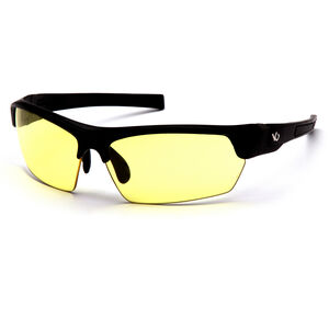Pyramex Safety Products Tensaw Eye Protection Safety Glasses with Yellow Lenses and Black Frames VGSB330T