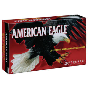 Federal American Eagle 6.5 Creedmoor Ammunition 100 Rounds 120 Grain Open Tip Match 2900fps