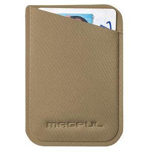 "Magpul DAKA Micro Wallet 3.75"" x 2.67"" Polymer Textile Flat Dark Earth"