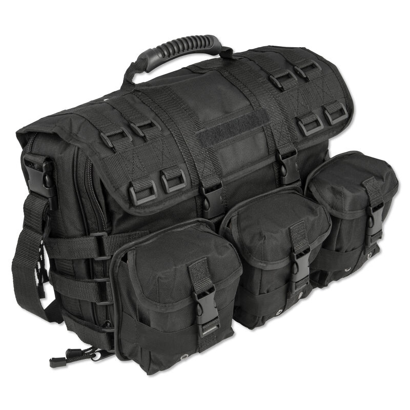 Personal Security Products Special Ops Overnight Bag 17 Inches Black SPOPCB