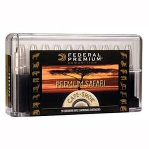 Federal Cape-Shok .458 Winchester Magnum Ammunition 10 Rounds Bonded Bear Claw 400 Grains P458T1