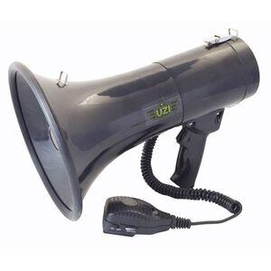 Uzi Recordable Megaphone, 50 Watts UZI-MP-50W