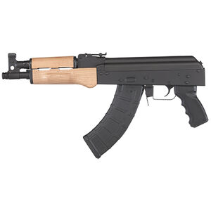 """Century Arms Draco Semi Auto Pistol 7.62x39mm 10.5"""" Barrel 30 Rounds Polymer Grip Wood Forend Black Finish"""
