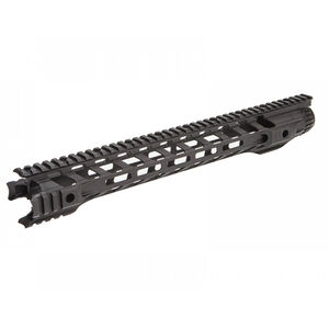 "Fortis Manufacturing Night Rail AR-15 556MM Free Float Rail System 16"" M-LOK Aluminum Anodized Black"