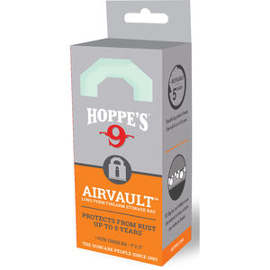 "Hoppe's AirVault Long Term Firearm Storage Bag 9""x12"" Rust Protection Up to 5 Years"