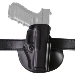 Safariland Model 5198 Paddle Holster Right Hand Fits GLOCK 43 Hardshell STX Plain Black