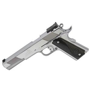 "Iver Johnson Eagle XLC .45 ACP 1911 Long Slide Semi Auto Handgun 1911 6"" Barrel 8 Rounds Series 70 Style Polished Chrome Finish"