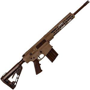 "Diamondback Firearms DB10 Semi Auto Rifle .308 Win 16"" Barrel 20 Rounds Free Float 10"" Keymod Handguard Collapsible Stock FDE"