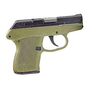 "Kel-Tec P-32 Semi-Automatic Handgun .32 ACP 2.7"" Barrel 8 Rounds Green Polymer Grip Assembly Blued Steel Slide"