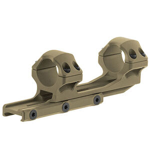 "UTG ACCU-SYNC 1"" Medium Profile 50mm Offset Pic. Rings, FDE"