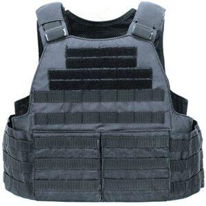 Voodoo Tactical MOLLE Hayden Plate Carrier for Soft or Hard Armor Black 20-0097001000