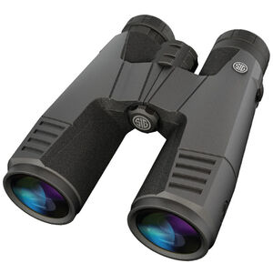 SIG Sauer Zulu9 11x45 Full Size Binoculars Abbe-Koenig Prism System HDX Optical Design Multi-Position Twist Eyecups IPX-7 Waterproof/Fogproof Non-Slip Grip Coating Rubber Armor Graphite/Black Finish SOZ99002