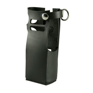 Boston Leather 5612 Radio Holder Motorola APX 7000 7000xe D-Ring Leather Plain Black 5612RC-1