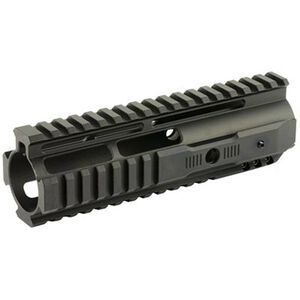 "HERA USA AR-15 IRS Rail System 7"" One Piece Free Float Hand Guard Quad Rail Picatinny Aluminum Anodized Black"