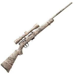 "Savage 93 R17 XP Bolt Action Rimfire Rifle Package .17 HMR 22"" Barrel 5 Rounds 3-9x40mm Scope Mossy Oak Brush Synthetic Stock"
