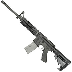 "Rock River LAR-15 Tactical CAR A4 AR-15 Semi Auto Rifle 5.56 NATO 16"" Chrome Lined Barrel 30 Rounds with Delta Quad Rail Black"