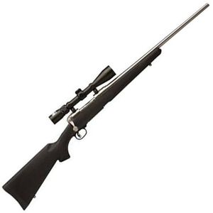"""Savage Model 16 Trophy Hunter XP Bolt Action Rifle .243 Win 22"""" Barrel 4 Rounds Nikon 3-9x40 Scope Synthetic Stock Stainless Finish 19723"""