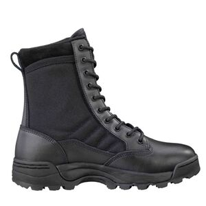 "Original S.W.A.T. Classic 9"" Men's Boot Size 10.5 Wide Non-Marking Sole Leather/Nylon Black 115001W-105"