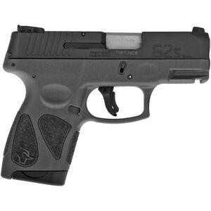 "Taurus G2S Slim .40S&W Semi Auto Pistol 3.2"" Barrel 6 Rounds 3 Dot Sights Matte Black Slide/Gray Frame"