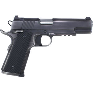"Dan Wesson Specialist .45 ACP 1911 Semi Auto Pistol 5"" Barrel 8 Rounds Full Size Government Profile G10 Grips Distressed Duty Finish"