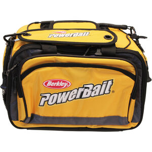Berkley PowerBait Tackle Bag Nylon Medium Yellow 1214470