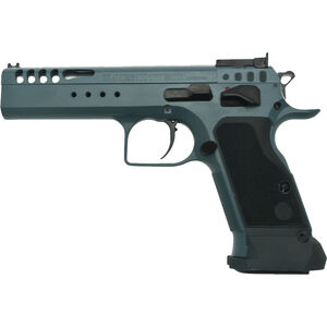 "EAA Tanfoglio Witness Ltd Custom 10mm Auto Semi Auto Pistol 4.75"" Barrel 14 Rounds Adjustable Rear Sight Ported Slide Steel Frame Tancoat Finish"