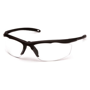 Pyramex Safety Products Zumbro Eye Protection Safety Glasses with Clear Lenses and Bronze Frames VGSBR210T