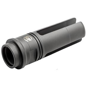 "SureFire SOCOM 3 Prong Flash Hider/Suppressor Adapter 5.56mm/.223 Rem Caliber Threaded 9/16""x24 Left Hand Heat Treated Stainless Steel Ionbond DLC Coating Matte Black SF3P-556-MK46"