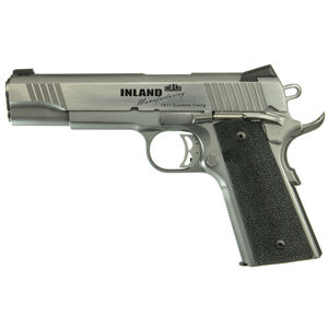"Inland 1911 Custom Carry Semi Auto Pistol 45 ACP 5"" Barrel 7 Rounds"