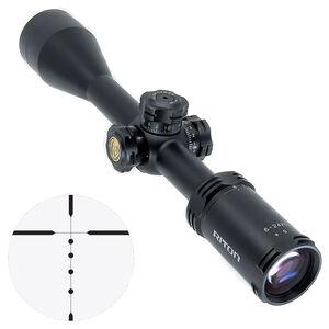 """Riton RT-S Mod 3 Gen 2 6-24x50 Riflescope Non-Illuminated BDC Reticle 1"""" Tube .25 Inch Per Click 6061-T6 Aluminum Second Focal Plane Adjustable Parallax Matte Black"""