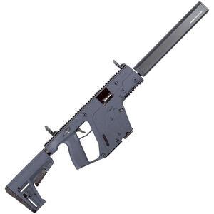 "Kriss USA Kriss Vector Gen II CRB 10mm Auto Semi Auto Rifle 16"" Barrel 15 Rounds Kriss M4 Stock Adapter/Defiance M4 Stock Combat Grey Finish"
