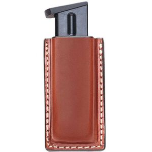 Aker Leather 514 Single Magazine Pouch Leather 3 Tan