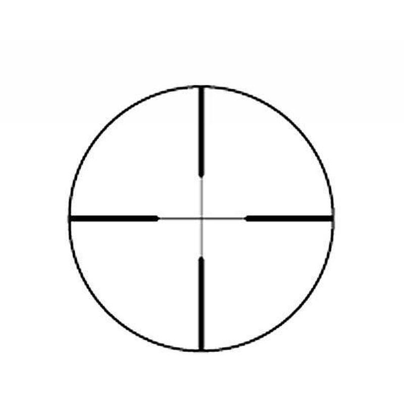 Redfield Revolution 4-12x40 Riflescope 4-Plex Reticle 1/4 MOA Lockable Eyepiece Matte Finish