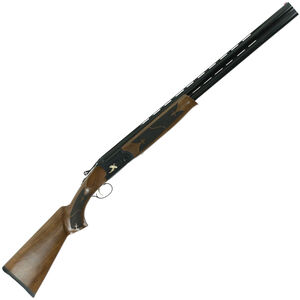 "Hatfield Field O/U Break Action Shotgun 12 Gauge 28"" Double Barrel 3"" Chamber 2 Rounds FO Front Sight Walnut Stock Burnt Black Finish"