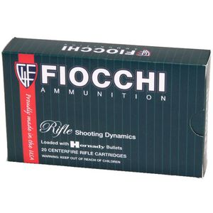 Fiocchi Shooting Dynamics .223 Remington Ammunition 62 Grain FMJ Boat Tail Projectile 3000