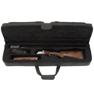 "SKB 3409 Hybrid Breakdown Shotgun Case 32"" x 9"" x 5.50"" Custom Foam Interior   Lined Interior Weather Resistant 600D Ballistic Nylon Double Zipper Matte Black 2SKB-SC3409"