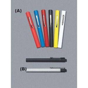 "Emergency Medical International Disposable Rainbow Penlight Lightweight 5"" Long Red 212-R"
