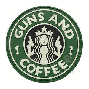 Tru-Spec PVC Guns and Coffee Morale Patch 6786000