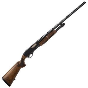 """CZ-USA 612 Field Pump Action Shotgun 12 Gauge 3"""" Chamber 28"""" Barrel 4 Rounds Walnut Stock 06540"""