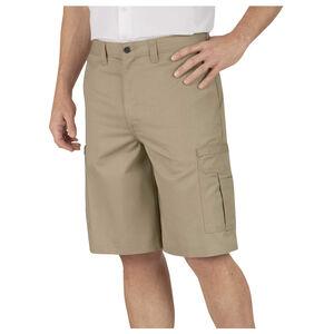 """Dickies Industrial Flat Front Shorts 50"""" Waist Desert Sand"""
