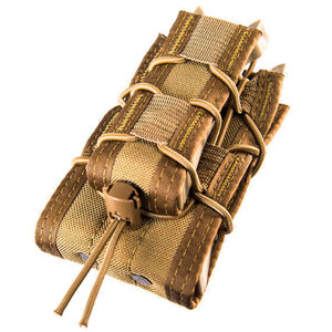 High Speed Gear Double Decker TACO LT MOLLE Pouch Coyote Brown