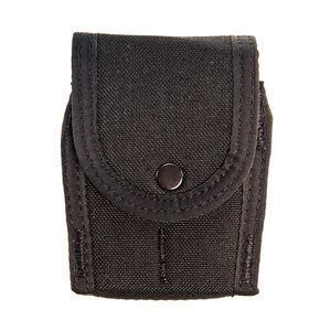 High Speed Gear Duty Handcuff TACO Covered Belt/MOLLE Mount Cordura Black