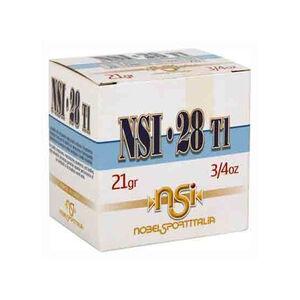 """NobelSport Hunting 28 Gauge Ammunition 25 Rounds 2.75"""" #7.5 Lead 3/4 oz ANS2875"""