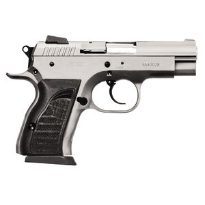 "EAA Witness Compact Semi Automatic Handgun .40 S&W 3.6"" Barrel 12 Rounds Black Rubber Grips Wonder Finish"