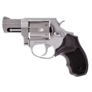 "Taurus UL 856 Double Action Revolver .38 Special 2"" Barrel 6 Rounds Serrated Ramp Front Sight/Fixed Rear Sight Soft Rubber Grip Lightweight Alloy Frame Matte Stainless Finish"