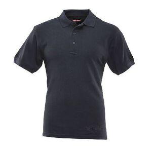 Tru-Spec 24-7 Series Men's Classic Polo Short Sleeve Cotton Navy Medium