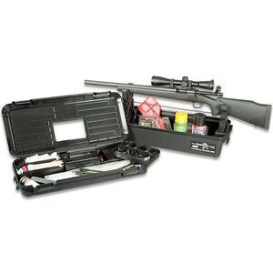MTM Case-Gard Range Tool Box, Includes AR Rifle Mount, Black